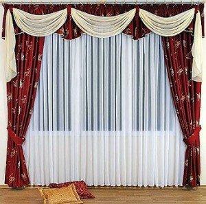 шторы как самый простой способ изоляции