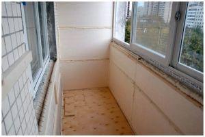 самостоятельная теплоизоляция балкона