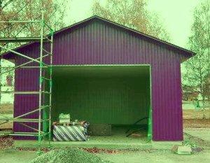 Что может быть надёжнее гаража?
