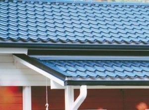 Чаще всего на домах можно встретить именно скатные крыши