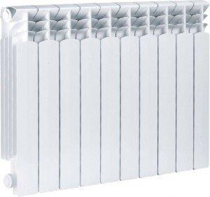 Очень популярны алюминиевые радиаторы