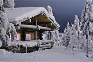 Как отопить дачу или загородный дом зимой?