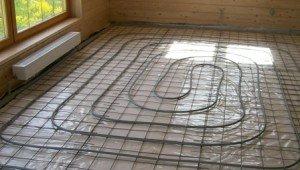 Электрическое отопление может быть отрегулировано на каждую комнату в отдельности