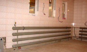 Водяное отопление гаража