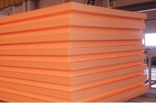 Пенополистирол - оптимальный материал для утепления фундамента. Нажмите на фото для увеличения.