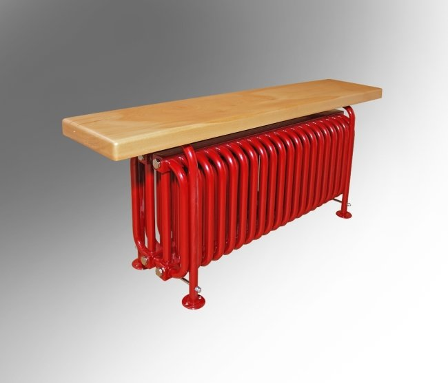 Батарея-скамейка