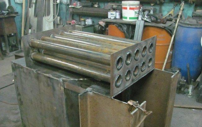 Трубы для пиролизного котла