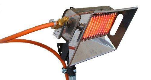Газовые ИК нагреватели