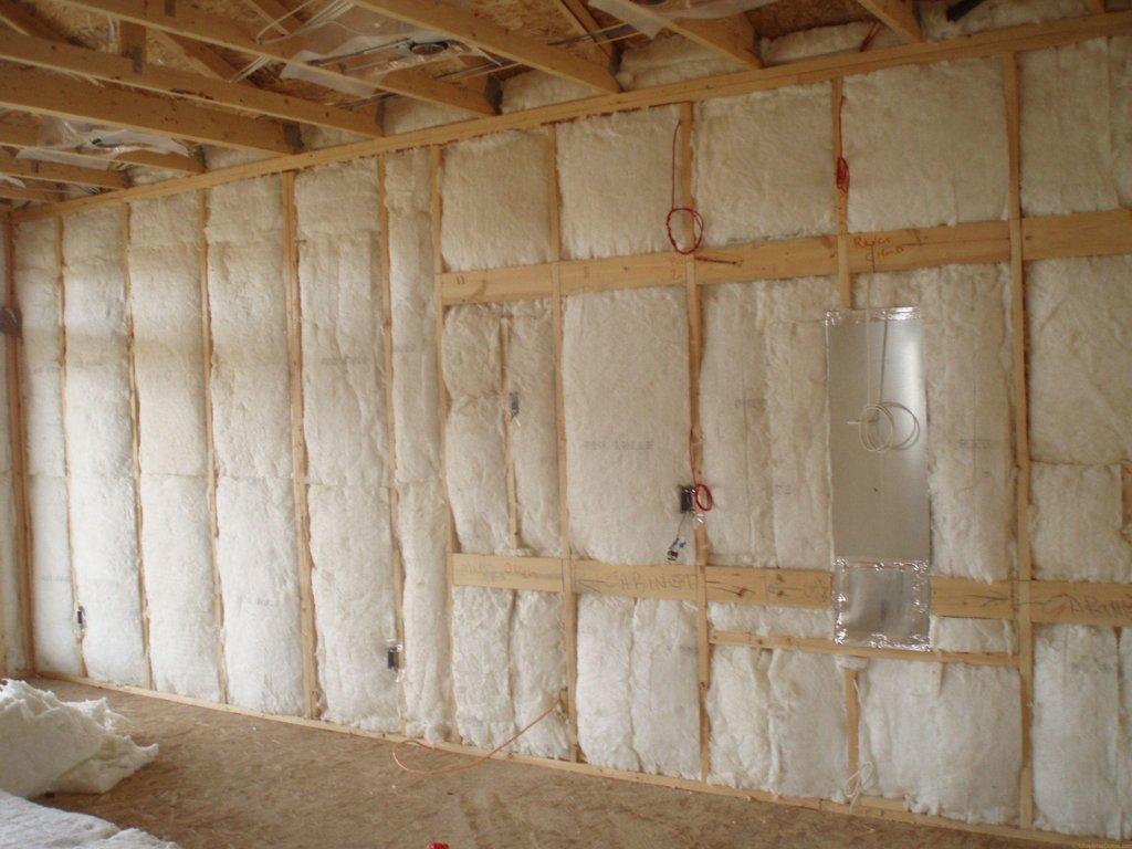 Внутреннее утепление стен каркасного дома