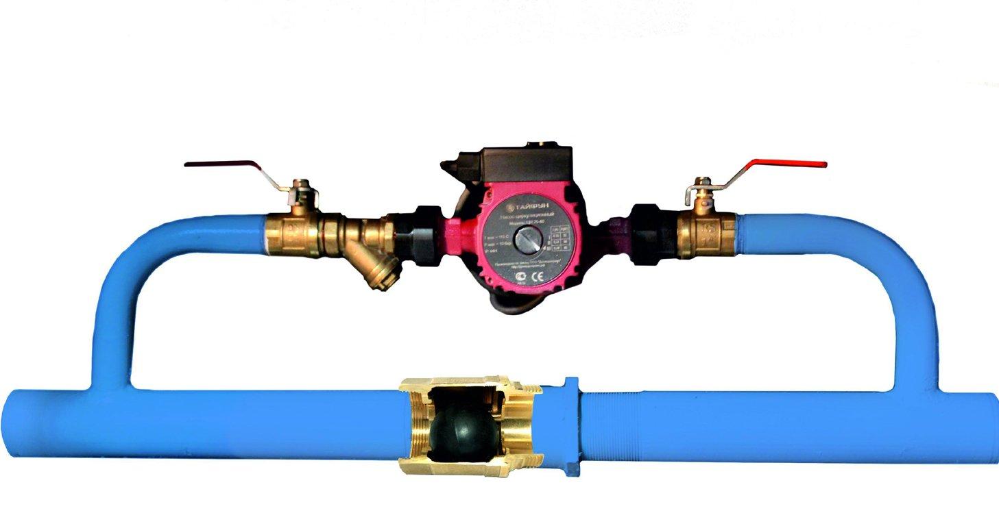 Что такое и для чего нужен в системе отопления байпас