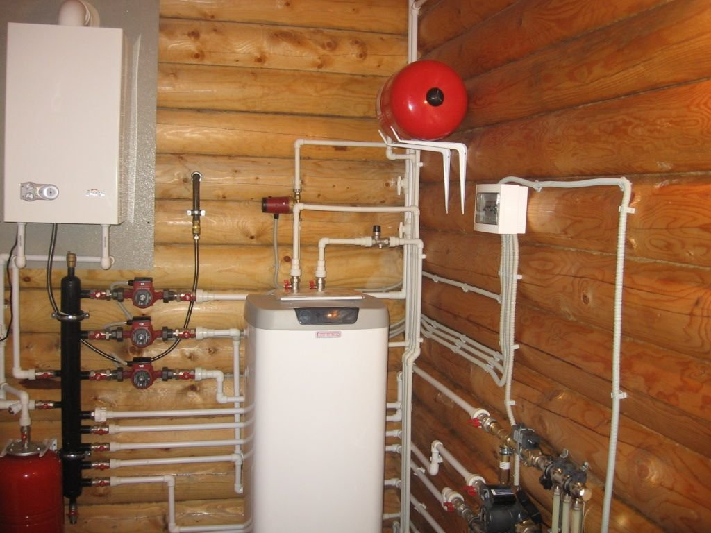 Варианты и способы отопления деревянного дома