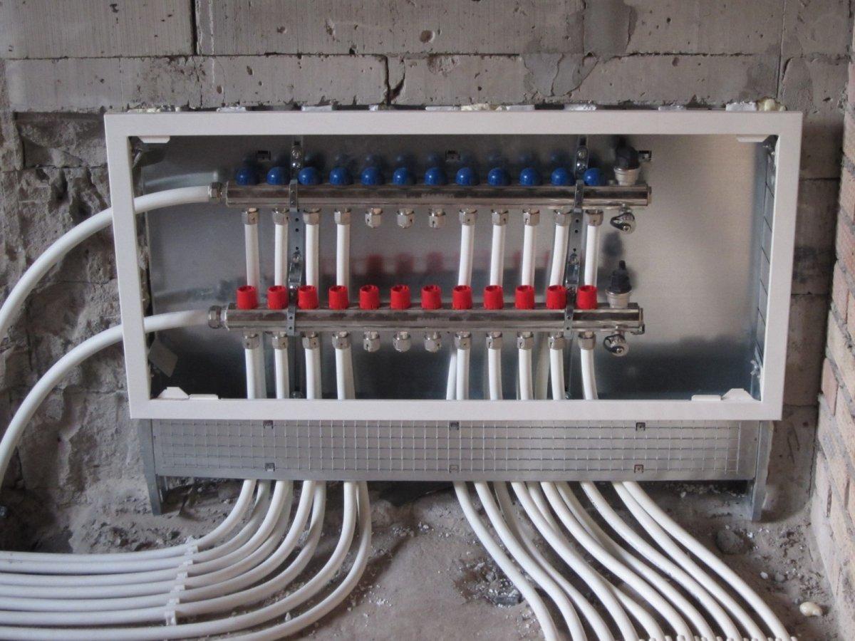 последовательная схема отопления