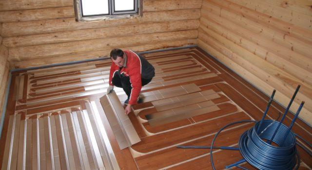 Как сделать отопление в деревянном доме 403
