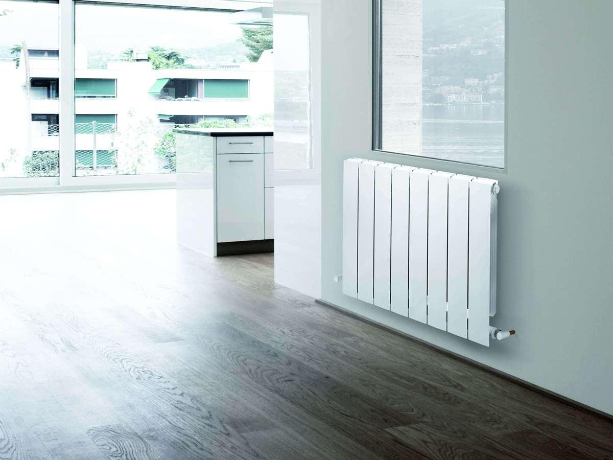 Компания Global выпустила новый радиатор с нижним подключением