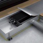 Устройство внутрипольных конвекторов отопления