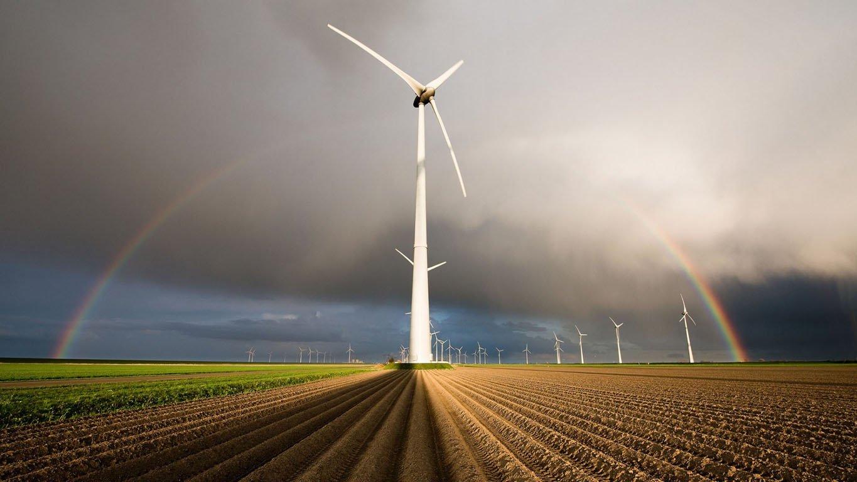 В Китае стартовало строительство новой ветровой электростанции