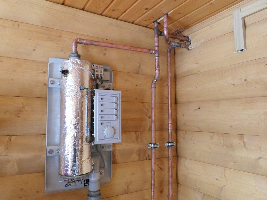 Какие электрокотлы используют для отопления дачи?