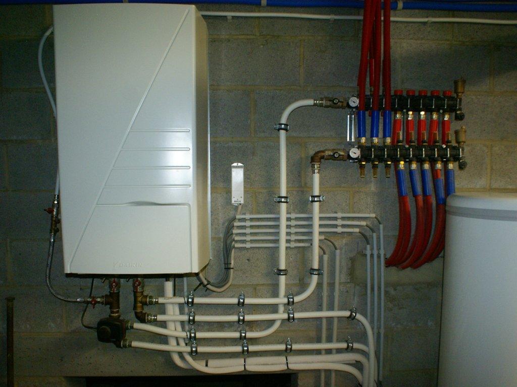Водяная система отопления в двухэтажных домах