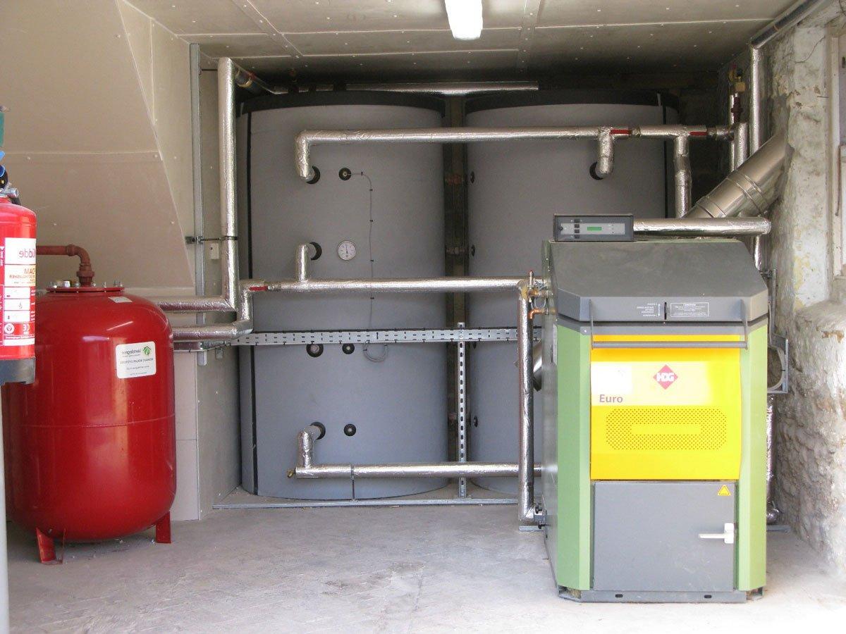 Какие преимущества дает использование буферной емкости для отопления
