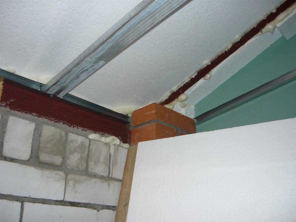Использование пенопласта для утепления крыши