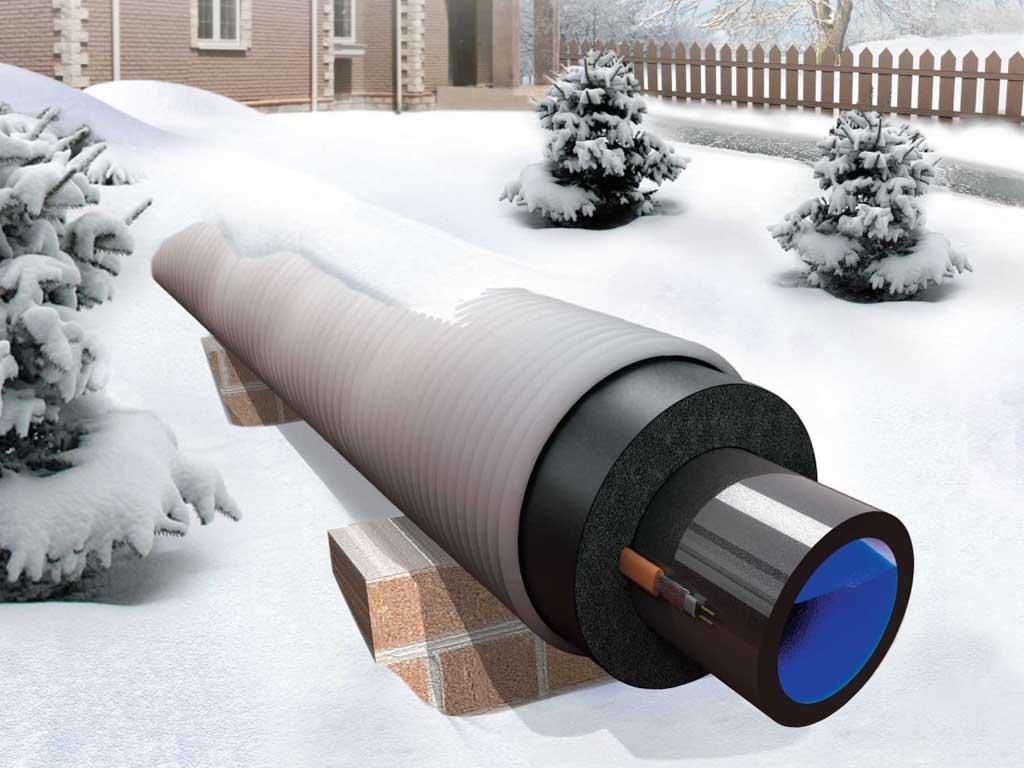 Осваиваем утепление канализационных труб