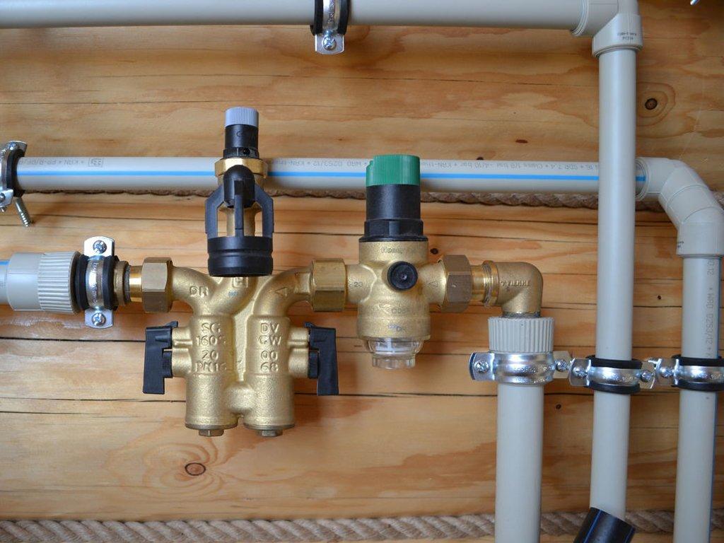 Отопление частного дома с использованием системы полипропиленовых труб