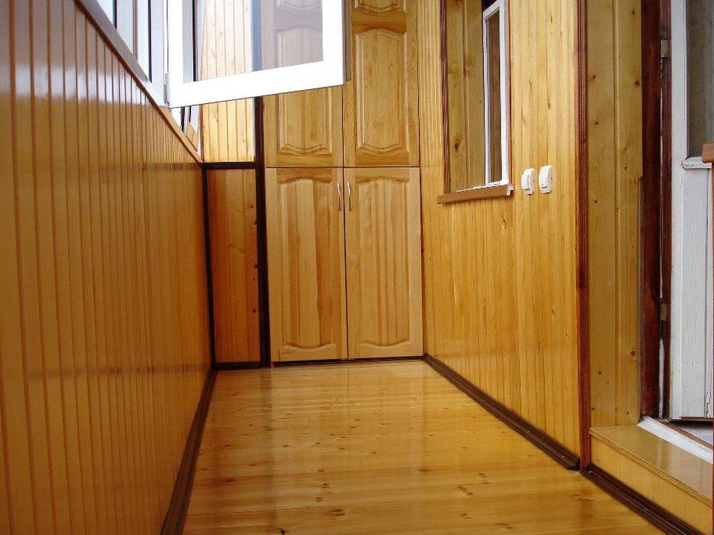 Сколько нужно вагонки для обшивки балкона.