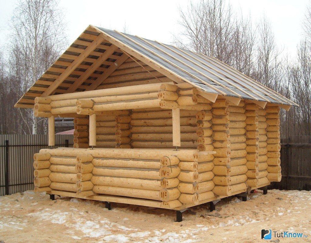 Недорогое утепление крыши бани