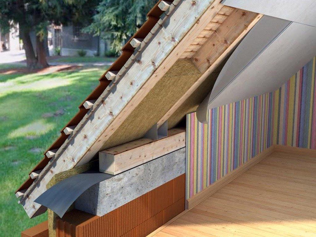 Какой материал использовать для утепления крыши?