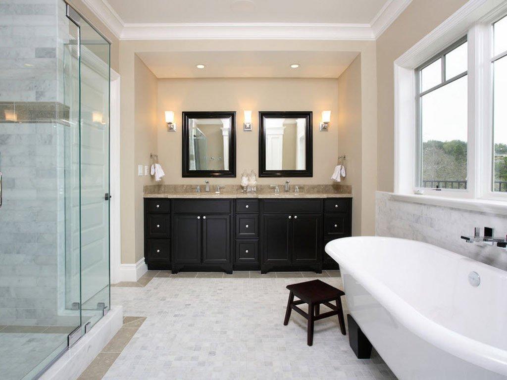 Как сделать ванную комнату теплой и уютной