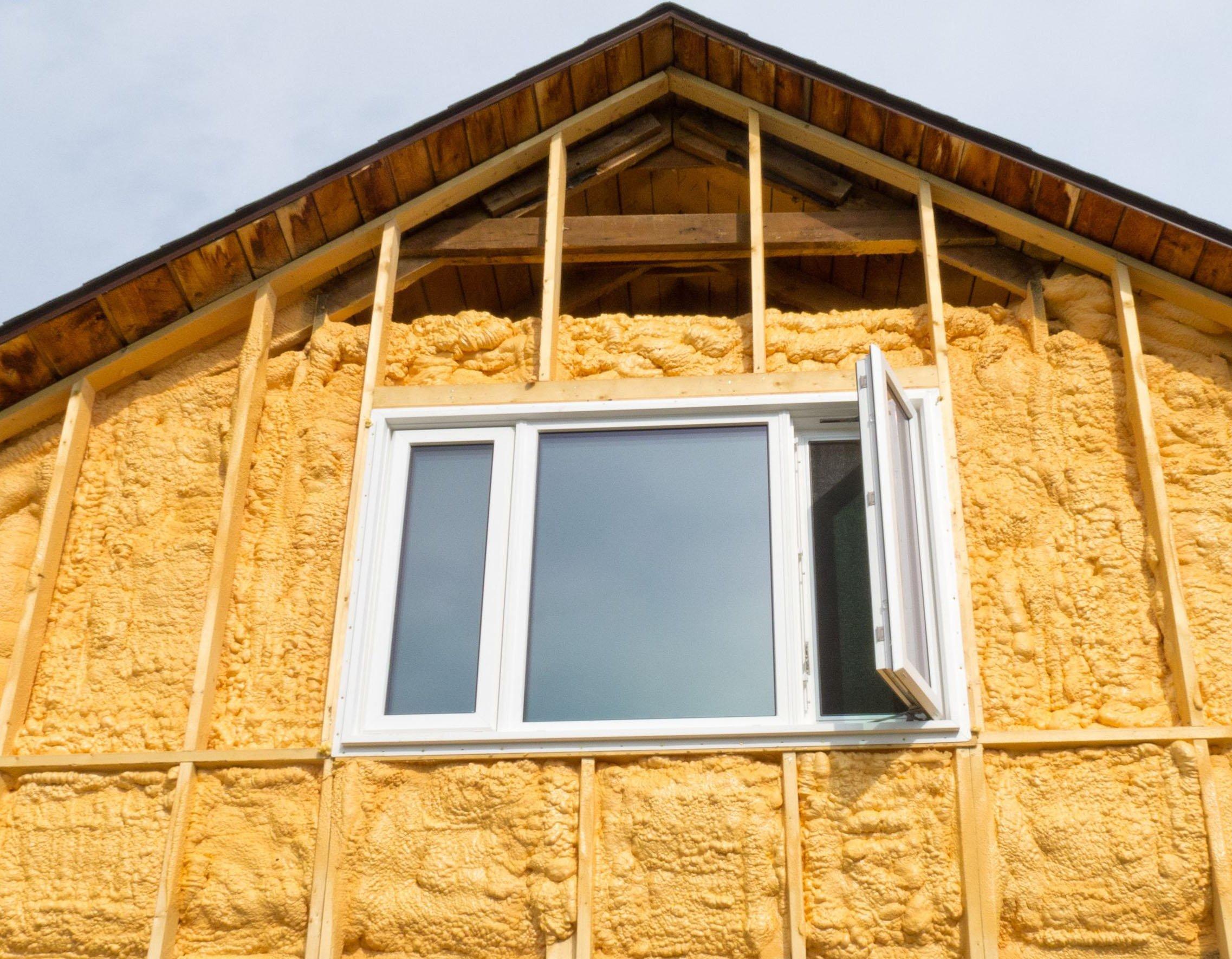 Применение технологий утепления деревянного дома