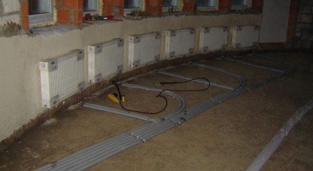 Схема котельной в частном доме отопление