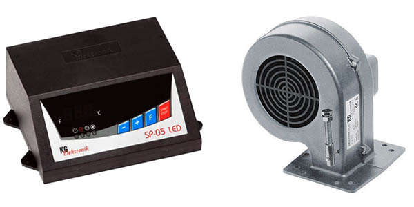 Блок управления и вентилятор KG Elektronik