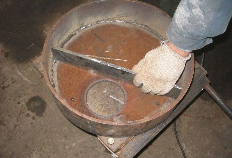 Печка работающая на отработанном масле своими руками 70