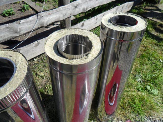 Сэндвич-труба для изготовления дымохода
