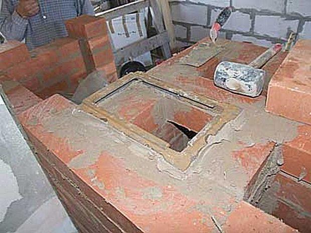 Строительство печи-камана