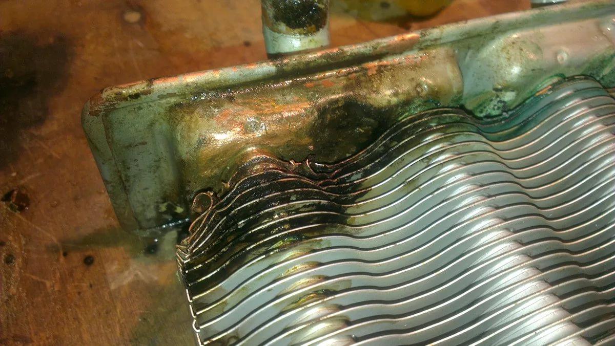 Отремонтировать теплообменник своими руками Кожухотрубный конденсатор ONDA C 56.303.2400 Сургут
