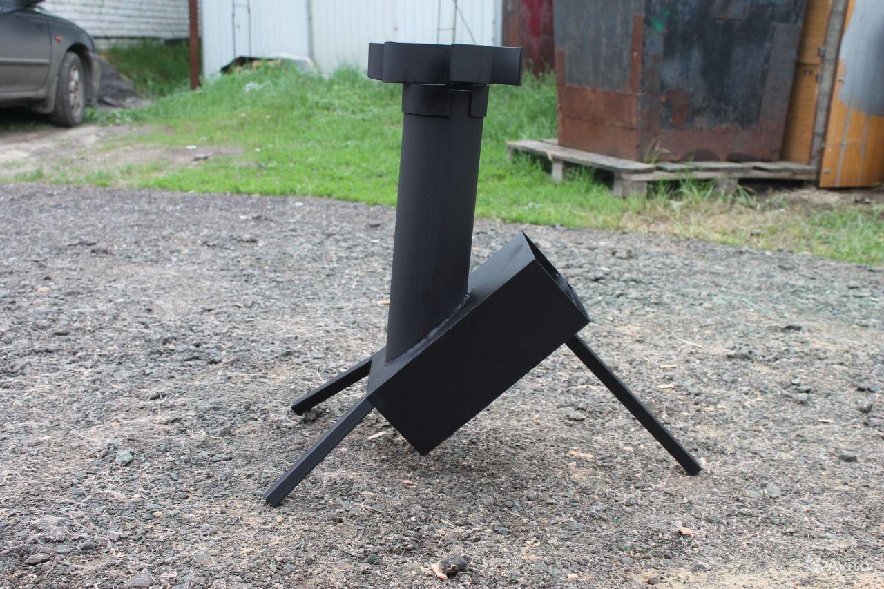 Самодельная ракетная печь своими руками 65