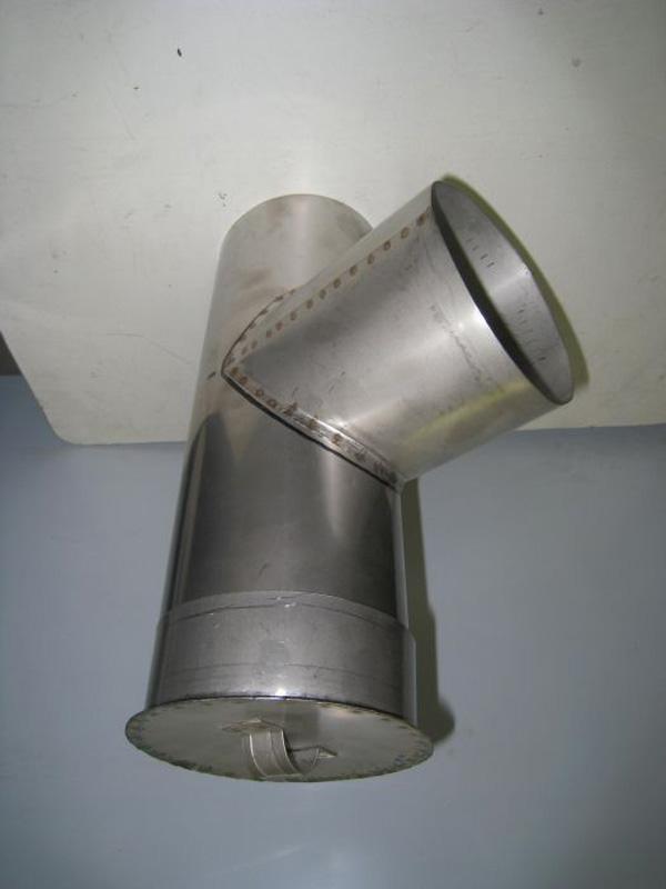 Как сделать тройник на трубу 713