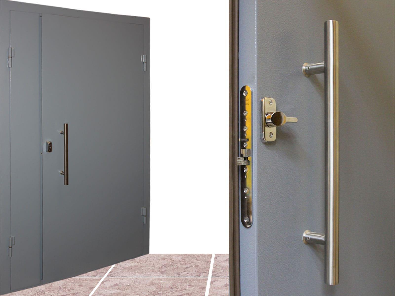 Металлические тамбурные двери — критерии выбора