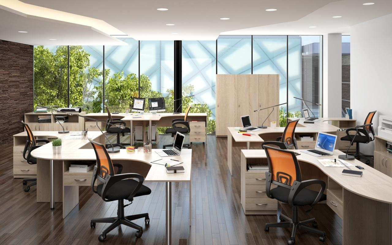 Производство офисной мебели на заказ