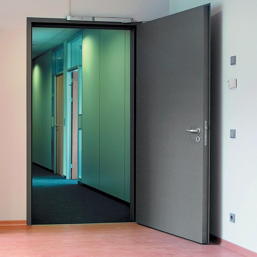 Где применяются звукоизоляционные двери
