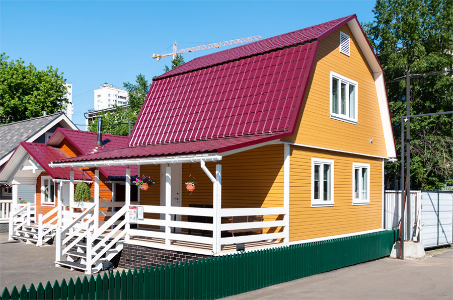 Двухэтажные каркасные дома — современные тренды в строительстве
