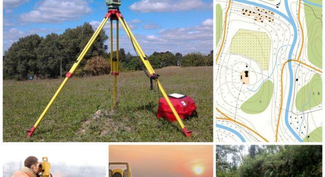Как проходит геодезическая съемка местности