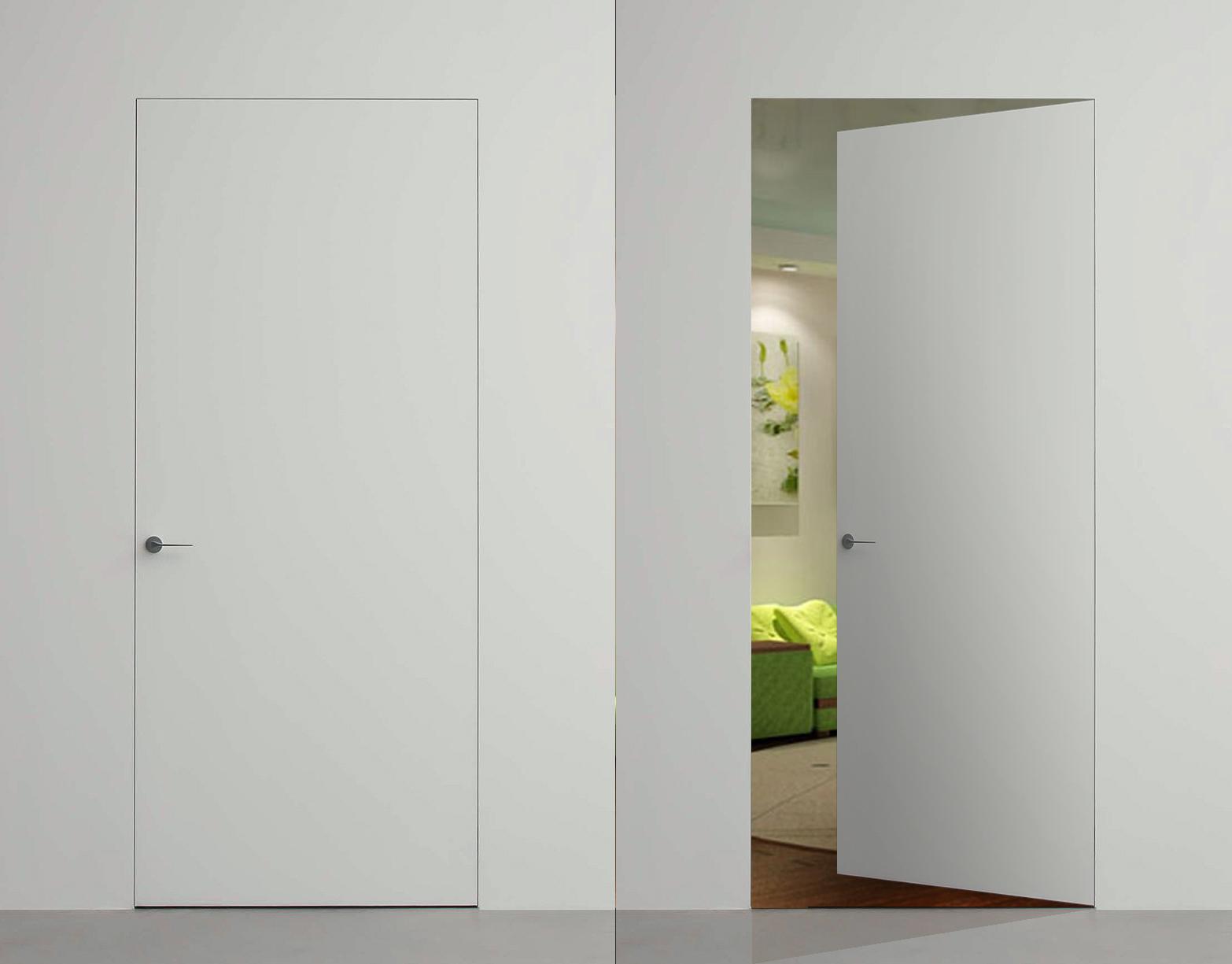 Двери со скрытыми петлями от производителя. Как выбрать?