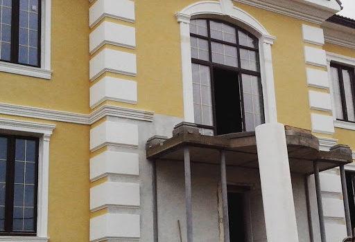 Декор из пенопласта для фасада