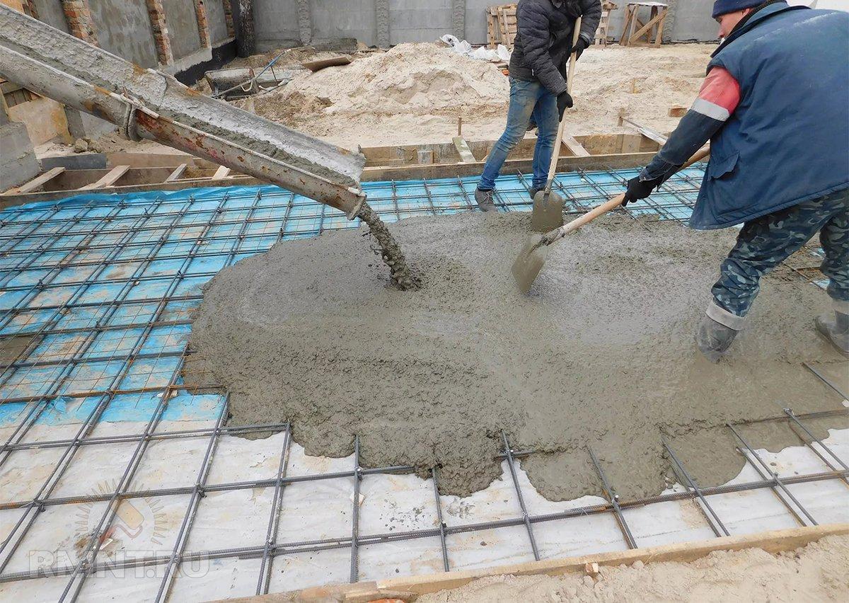 Какова цена на бетон за куб в данное время в Москве и области