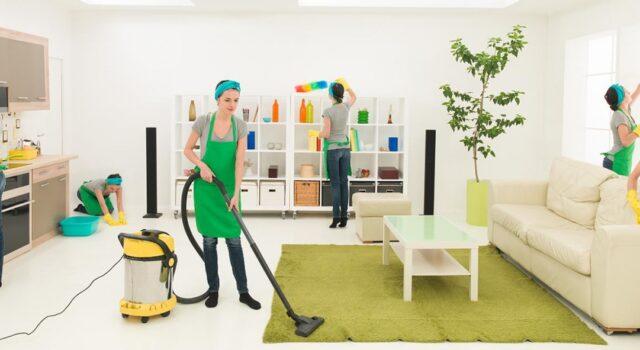 Как проводится работа по уборке частного дома