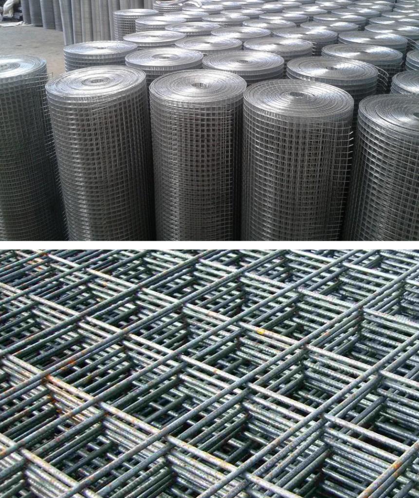 Как используют металлическую сетку?