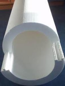 утепление труб пенопластом